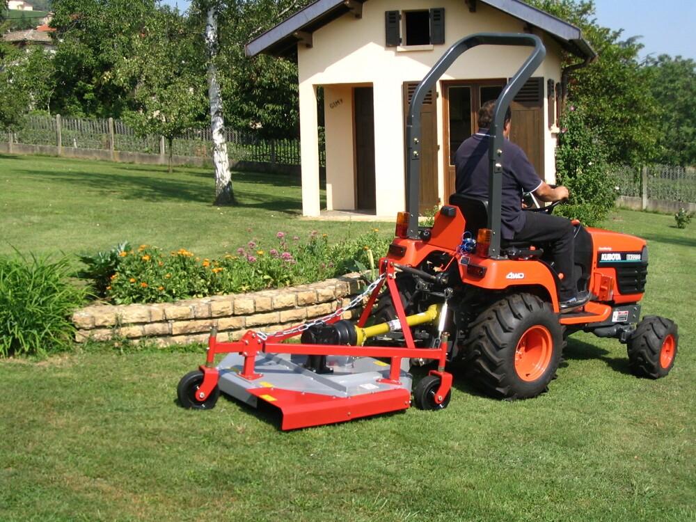 Tondeuse Morgnieux Pour Micro Tracteur 90 Cm Largeur De Coupe