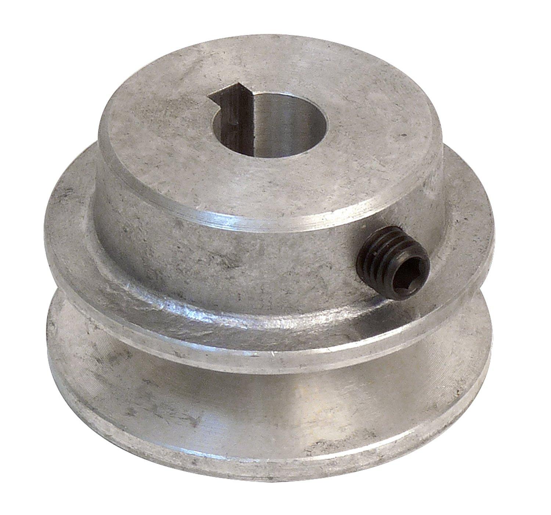 Fartools 117230 Poulie aluminium Diamètre 50 mm Alésage 24 mm