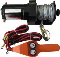Treuil Electrique 12 Et 24 Volt Pour Depanneur Et Professionnel