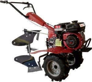 motoculteur complet thermique 6 5 cv avec charrue et roues. Black Bedroom Furniture Sets. Home Design Ideas