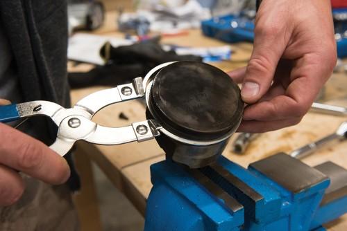 PINCE À SEGMENTS DE PISTON 1,2-6,4mm en acier carbone nickelé