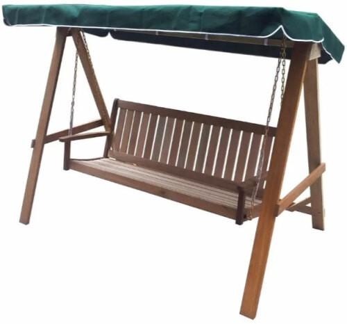 Balancelle de jardin bois acacia capacit 300kg - Balancelle de jardin en bois ...