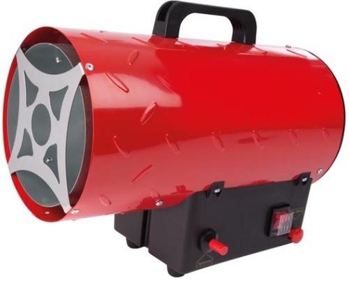 Canon à Chaleur Pulsée 15 Kw Gaz Propane Butane Rouge