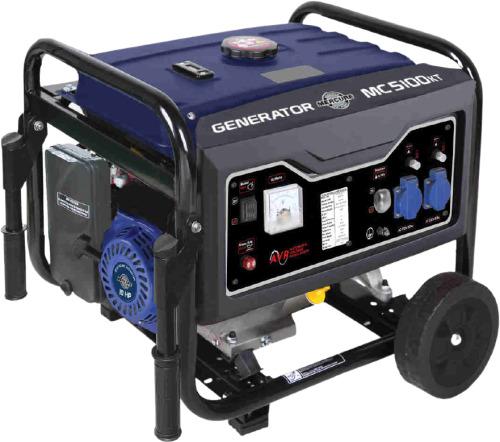 Groupe électrogène Mecafer MC5100KT essence 4500w avec kit mobile 635c938ab2ad