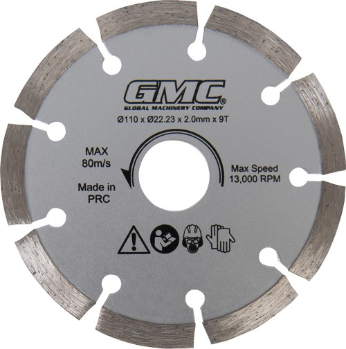 Lame de scie diamant 9 dents - GMC