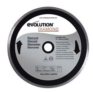 Disque diamant coupe carrelage 255 mm pour les scies fury3xl et fury5 evolution build ld255f - Disque coupe carrelage 180 mm ...