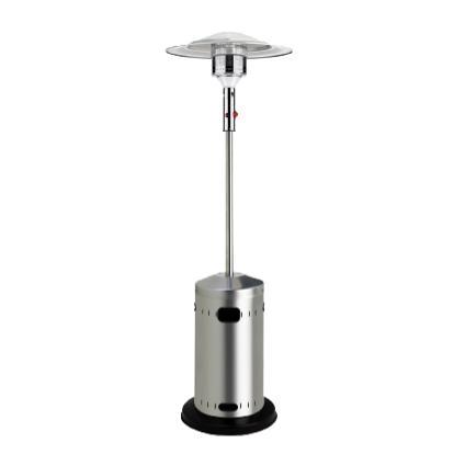 parasol chauffant gaz en inox d 39 une puissance de 12 kw. Black Bedroom Furniture Sets. Home Design Ideas