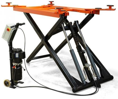 pont levateur mobile ciseaux lectro hydraulique 2 8. Black Bedroom Furniture Sets. Home Design Ideas