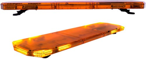 Rampe lumineuse orange led ultra plate 5 cm de haut - Rampe lumineuse led cuisine ...
